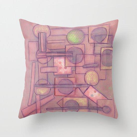 Itinerant Musician Throw Pillow