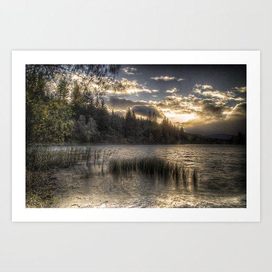 Loch na h-Àirde Art Print