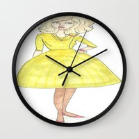 60s Wall Clocks featuring 60s by A.S.M Designs
