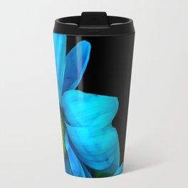 Blue Petals Travel Mug