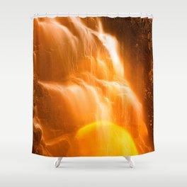 Hadlock Bokeh Bliss Falls Shower Curtain