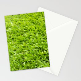 A million leaves of grass. Green is Everything Stationery Cards