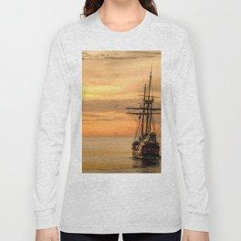 Sailing ship Long Sleeve T-shirt