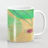 breakfast Mugs featuring Breakfast by Fernando Vieira