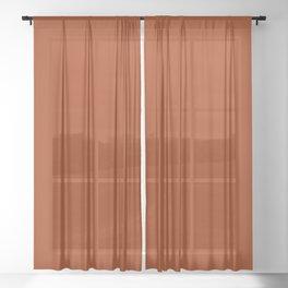Cinnamon Stick. Sheer Curtain