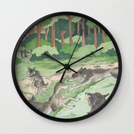 Waidmanns Heil Wall Clock