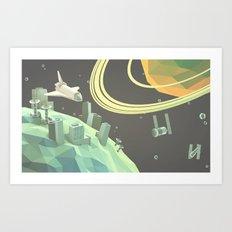 Space v.1 Art Print