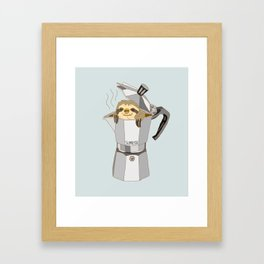 Slopresso Framed Art Print