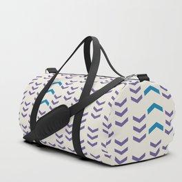 Break the pattern | light Duffle Bag