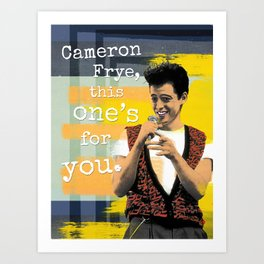 This One's For You Art Print