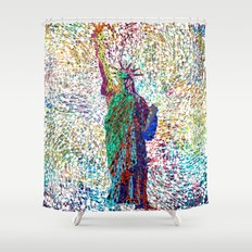 the Liberty Shower Curtain
