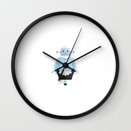 Rosie The Robotic Maid Minimal Sticker Wall Clock