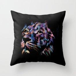 Fortis Lion Throw Pillow