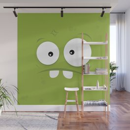 Psychos - Crazy Monsters (Green) Wall Mural