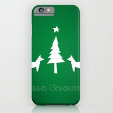 Christmas foxes Slim Case iPhone 6s