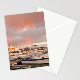Marina in the Azores Stationery Cards