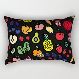 fruits & veggies Rectangular Pillow