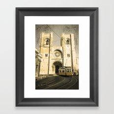 Cathedral Tram  Framed Art Print