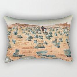 The Battlefield. Rectangular Pillow