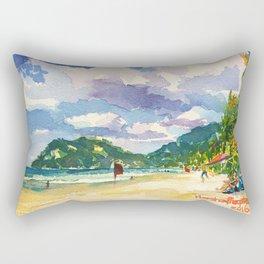 Maracas Chillax Rectangular Pillow