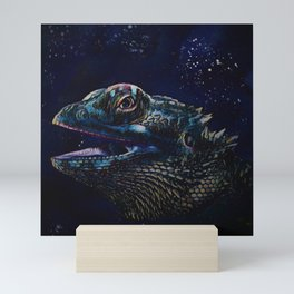 Bearded Dragon Mini Art Print