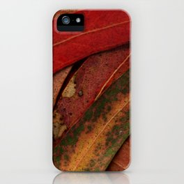 Eucalyptus Tree Leaves iPhone Case