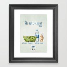 Art House cinema Framed Art Print