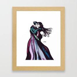 Strange Love Indeed. Framed Art Print