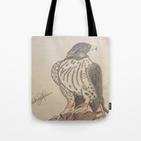 falcon Tote Bags featuring FALCON by Shomos