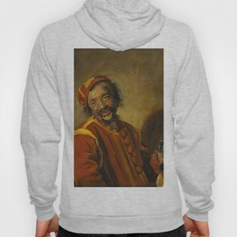 "Frans Hals ""Laughing man with crock, known as 'Peeckelhaeringh or 'Pekelharing'"" Hoody"