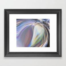 Wave Of Emotion Framed Art Print