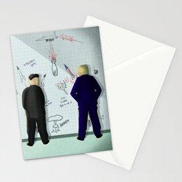 Usa VS North Korea Stationery Cards