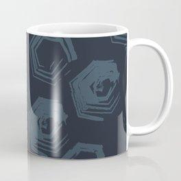 Open Polygons of Steel Coffee Mug