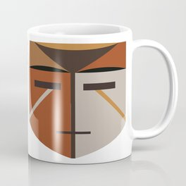 African Tribal Mask No. 4 Coffee Mug