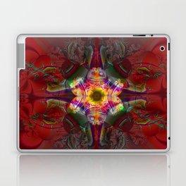 Sedona Red- Wall Art- Sacred Geometry- Fractal Art- Laptop & iPad Skin