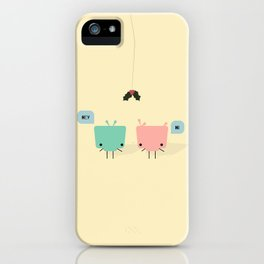 She & He iPhone Case