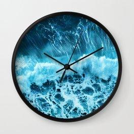 Sea wave Wall Clock