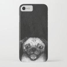 Snuggle pug Slim Case iPhone 7