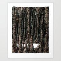 Inner Scenery- ver.A Art Print