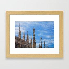 Milan Duomo Cathedral Framed Art Print