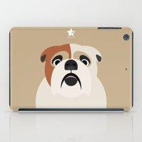 bulldog iPad Cases featuring Bulldog by SaveTheDogs.es