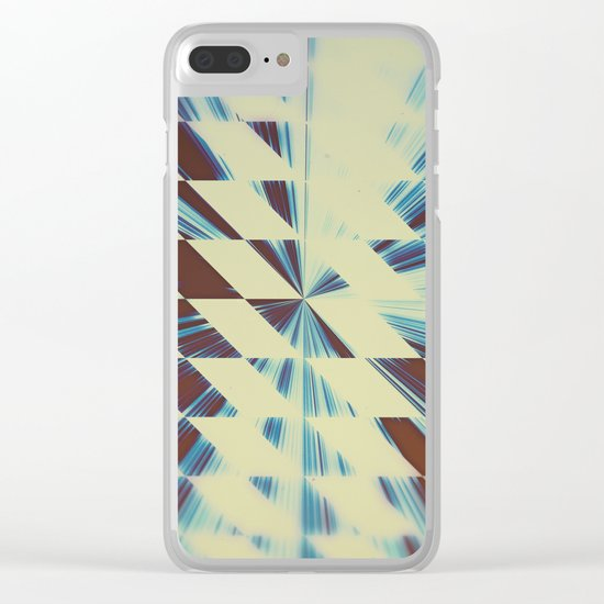 Amblivortex Clear iPhone Case