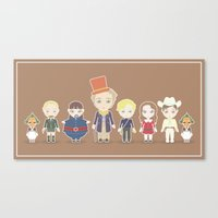 willy wonka Canvas Prints featuring Willy Wonka by Ricky Kwong