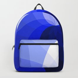 Monochromatic Blue Backpack