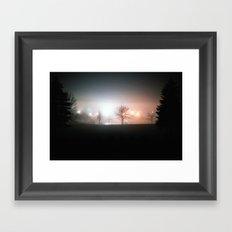 Through the Mist Framed Art Print