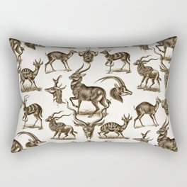 Ernst Haeckel Antilopina Antelope Rectangular Pillow
