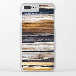 Scars on Cedar Clear iPhone Case
