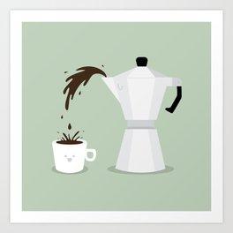 Espresso Time! Art Print