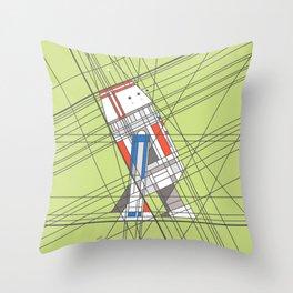 R5D4 Deco Droid Throw Pillow