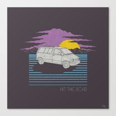 Hit the Road Canvas Print